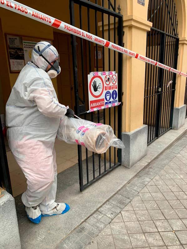 Desamiantado en Madrid